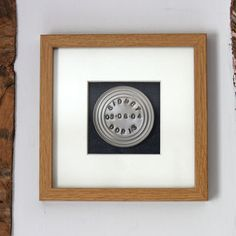Personalised Framed Tin Curiosity Wall Hanging