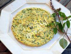 Zucchini Omlet Recipe Details, Frittata, Zucchini, Breakfast, Recipes, Food, Morning Coffee, Eten, Recipies