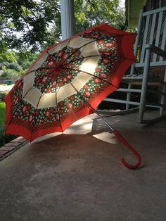 1960s Vintage Umbrella by FreeSpiritSweetheart on Etsy