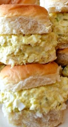 Egg Salad Sandwiches Recipe ~ Simple and Delicious!