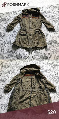 Charlotte Russe jacket Oliver green jacket Charlotte Russe Jackets & Coats