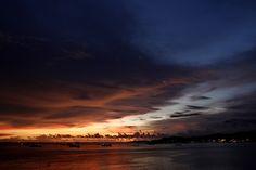 Teluk Bayur's Sunset