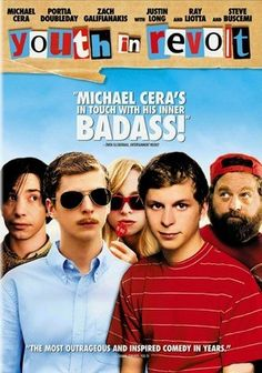 Youth in Revolt (2009) Nick Twisp (Michael Cera), a cynical, sex-deprived teenager living a less-than-satisfactory existence, is pushed by the manifestation of his debonair, rebellious id (also Cera) to bed his dream girl, Sheeni Saunders (Portia Doubleday). Miguel Arteta directs this irreverent, dark comedy based on the popular novel series by C.D. Payne. Steve Buscemi, Ray Liotta, Justin Long, Fred Willard, Jean Smart, M. Emmet Walsh and Zach Galifianakis co-star.