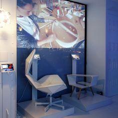 Casa di Peroni design contest Acustic armchair by Mircea Ilas and Ponte table