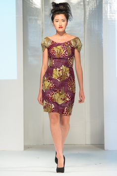 Mode africaine , Ella  Gabby collection at Africa Fashion Week London 2012