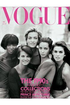 Naomi Campbell says the original supermodels are reuniting - Vogue Australia