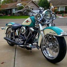 Harley Davidson News – Harley Davidson Bike Pics Harley Davidson Fatboy, Harley Softail, Vintage Harley Davidson, Harley Davidson Motorcycles, Cool Motorcycles, Vintage Motorcycles, Triumph Motorcycles, Motos Bobber, Bobber Chopper