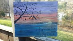 Check out this item in my Etsy shop https://www.etsy.com/listing/233318395/if-youre-a-bird-im-a-bird-pallet