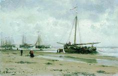 Шевенинген. Голландия. 1885 - Боголюбов Алексей Петрович