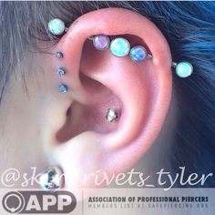 My ear is beautiful thanks to Tyler Mcclure at Ink Therapy Tattoo & Piercing