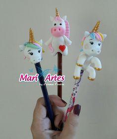 Resultado de imagen para porta caneta unicornio de biscuit