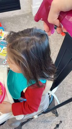 Easy Toddler Hairstyles, Easy Little Girl Hairstyles, Kids Curly Hairstyles, Cute Girls Hairstyles, Princess Hairstyles, Hairstyles For Toddlers, Girl Hair Dos, Crazy Hair, Hair Styles