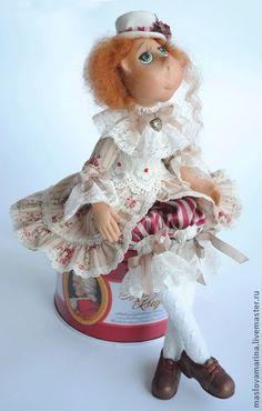 """Коллекционные куклы ручной работы. Ярмарка Мастеров - ручная работа Кукла """" Я могу желание исполнить, я всё время занимаюсь этим..."""". Handma..."""