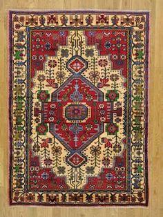 SH Red Persian 26001 Wool Rug