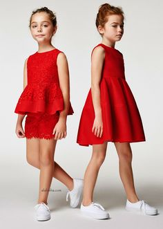 ALALOSHA: VOGUE ENFANTS: New season SS'17: With this collection of Carolina Herrera Sunday best can be every day!