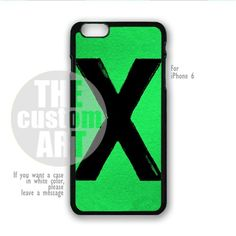 Ed Sheeran X - For iPhone 6 - NOTE for iPhone 6 Plus   TheCustomArt - Accessories on ArtFire