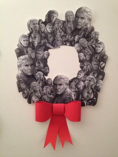 The wreath of KHAAAAAAN... hehehe