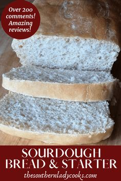 sourdough bread recipe with starter Dutch Oven Sourdough Bread Recipe, Sourdough Bread Machine, Recipe Using Sourdough Starter, Dough Starter Recipe, Amish Bread Recipes, Bread Maker Recipes, Sourdough Recipes, Recipe Breadmaker, Starter Recipes