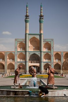 Amir Chakmak Square in Yazd, Iran