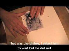 modge podge transfer -- how to transfer photos to cardstock -- video tutorial