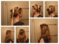 Game of Thrones Hair: Five Minute Ideas: Missandei, Sansa and Margaery.
