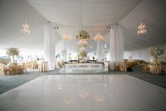 Beautiful Wedding Reception Layout & Floor idea  (ref: Engage!13 Conference : North Carolina - Jasmine Star)