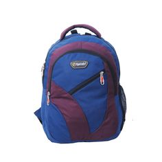 Buy #Fyntake ERAM921 BNG #Backpack (Royal Blue & Wine)..!! #BackpackOnline #BuyBackpackOnline #FyntakeBackpack #LuggageBag #OffersOnLuggageBag #OffersOnBags ✧ Free Shipping ✧ You can also call on +91 9916690003 (10AM-6PM) to place the order..!!