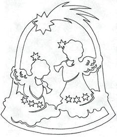 Scroll Saw Ornaments Christmas Stencils, Christmas Paper Crafts, Christmas Templates, Christmas Printables, Holiday Crafts, Christmas Angels, Christmas Time, Christmas Ornaments, Kirigami