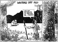 13 - Waitangi Cartoon 2