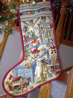 Counted Cross Stitch Christmas Stocking Workshop