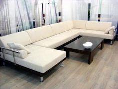 Ashley Art Deco Style Modern Sectional Sofa Set