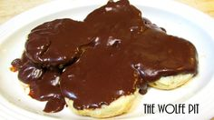 Southern Chocolate Gravy and Biscuits --  this is one I'm gonna have to try!  Good Old Fashioned Southern Comf...