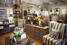 This blog has tons of great shop photos and display ideas.  Do you think they'd mind if I just moved in - it's all of my favorite things!  FOUND by domestic bliss: the shop