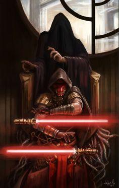 Darth Revan, Sith Lord, Kotor, Star Wars: Knights of the Old Republic Star Wars Fan Art, Star Trek, Star Wars Saga, Star Wars Jedi, Star Wars Pictures, Star Wars Images, Starwars, Star Wars Tattoo, Cadeau Star Wars