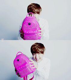 Exo - MCM Exo, Korea, Singer, Backpacks, Bags, Fashion, Handbags, Moda, Fashion Styles