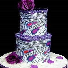 """Anakara cake inspiration😍😍 Credit: John Ojo by African Wedding Cakes, Unique Wedding Cakes, Wedding Cake Designs, Unique Cakes, African Traditional Wedding, Traditional Wedding Cakes, Traditional Cakes, Pretty Cakes, Beautiful Cakes"