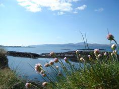 The island of Seil, Scotland