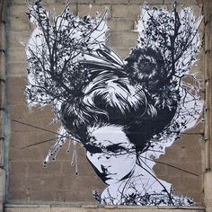 Street artist monsieur Qui