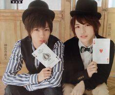 Abe Aran and Iwahashi Genki | ジャニーズJr. | Pinterest