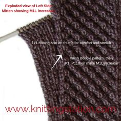 Its a how to pictorial for fast wristies and mitts Designer Knitting Patterns, Pattern Design, It Is Finished, How To Make, Fashion, Moda, Fashion Styles, Fasion