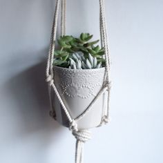 Ready for a little spring cleaning? While you're sprucing up your space to make room for a bit of fresh air, add a cute DIY macrame hanging planter in a window corner this year! Fancy knots, clean white edges, and fresh succulents are a welcome sight in the spring sunlight. I love the way this …