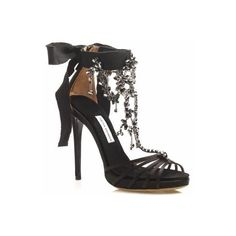 Tabitha Simmons Evita Chandelier Sandals ❤ liked on Polyvore featuring shoes, sandals, high heels, tabitha simmons sandals, high heel sandals, tabitha simmons, tabitha simmons shoes and high heeled footwear