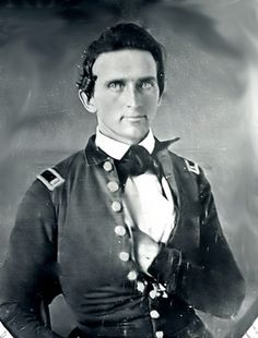 """(1847) Thomas J. """"Stonewall"""" Jackson as a Lieutenant in the US Army during the Mexican War"""
