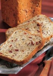This is a recipe for a wild rice/cranberry bread for a breadmaking machine.  I really want to try this one!