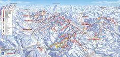 Pisteplan Skigebied Ellmau - SkiWelt