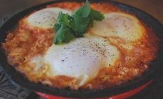 Cómo preparar huevos marroquíes
