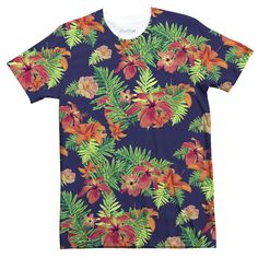Take your dad's old Hawaiian shirt, add a touch of vintage and stir in a little hipster. and you've got our Relaxed Florals T-Shirt. Dad jokes are definitely not included. Relaxed Florals T-Shirt-Shelfies-XS- Hawaiian Print Shirts, Vintage Hawaiian Shirts, Vintage Shirts, Floral Print Shirt, Shirt Print, Hipster Shirts, Dope Outfits, Printed Shirts, Shirt Designs