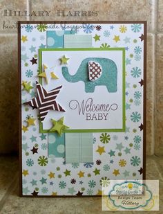 Echo Park Bundle of Joy with MFT stamps and Verve die. Simply Create Too challenge