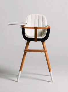 Mid Century Modern Baby Furniture: The Ovo High Chair by Micuna /