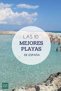 Si estás pensando en tus vacaciones de verano, aquí tienes las 10 mejores playas de España. Una de ellas ha sido elegida la mejor de Europa
